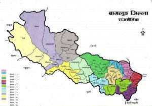 baglung map